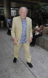 Harry Potter actor Michael Gambon at LAX airport Royalty Free Stock Photography