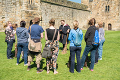 Harry Potter Broomstick training at Alnwick Castle Royalty Free Stock Images