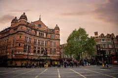Harry Potter byggnad i London Royaltyfria Foton