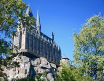 Harry Potter. Castle Attraction at Universal Studios, Orlando stock photo