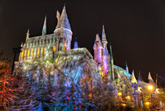 Harry Potter Castle Islands of Adventure Stock Image