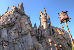 Harry Potter Castle Islands of Adventure Stock Photos