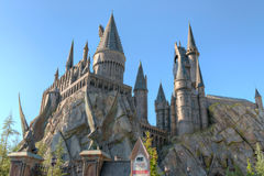 Harry Potter Castle Islands of Adventure Royalty Free Stock Photography