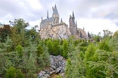 Harry Potter Castle At Islands av affärsföretaget, Closeup royaltyfria bilder