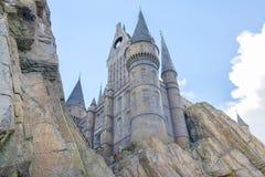 Harry Potter Castle At Islands av affärsföretaget, Closeup fotografering för bildbyråer