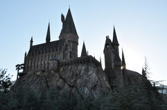 Harry Potter Castle in Universal Orlando Royalty Free Stock Images