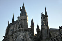 Harry Potter Castle in Universal Orlando Royalty Free Stock Photography