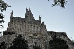 Harry Potter Castle in Universal Orlando Stock Image