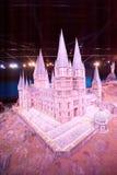 Harry Potter Castle at Warner Bros Studio Tour London Stock Images