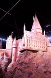 Harry Potter Castle at Warner Bros Studio Tour London Royalty Free Stock Image