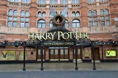 Harry Potter Cursed Child Stockbilder