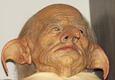 Harry Potter Goblin Prosthetic Royalty Free Stock Images