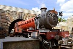 Harry Potter Hogwarts Express royaltyfri fotografi