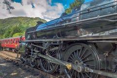 Harry Potter hogwarts express, scottish highlands,scotland,UK royalty free stock photo
