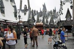 Harry Potter i de universella studiorna Royaltyfria Bilder