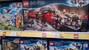 Harry Potter lego royaltyfri foto