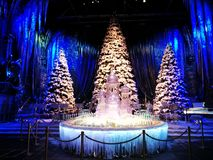 Harry Potter London, weihnachten royaltyfri foto