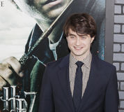 Harry Potter Premiere. New York, NY, USA - November 15, 2010: Actor Daniel Radcliffe attends the premiere of `Harry Potter and the Deathly Hallows - Part 1` at stock photography