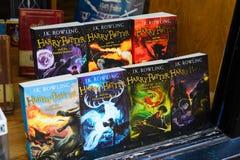 Harry Potter shoppar arkivfoton