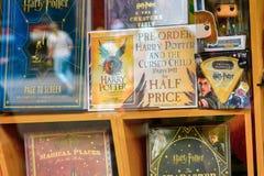Harry Potter shoppar royaltyfri bild