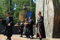 Harry Potter Singers fotografering för bildbyråer