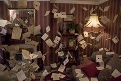 Harry Potter spis med bokstäver arkivfoto