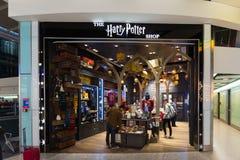 Harry Potter Store sur le terminal d'aéroport de Heathrow à Londres, U k Image libre de droits