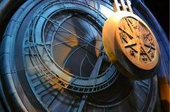 Harry Potter Studio Tour: Clock Pendulum. Located at Warner Bros. Studios, London Stock Photos