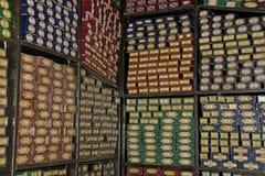 Harry Potter Studio Tour: Toverstokjeopslag Stock Foto