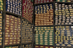 Harry Potter Studio Tour: Wand Store Stock Photo