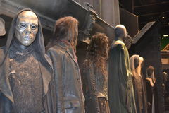 Warner HARRY POTTER TOUR Leavesden LONDON Model Figures  Stock Image
