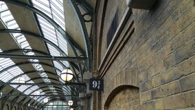 Harry Potter Train Station Stockbild