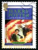 Harry Potter UK portostämpel Royaltyfri Fotografi