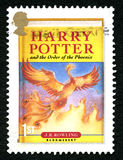 Harry Potter UK Postage Stamp Stock Images