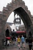 Harry Potter in the universal studios Stock Photos
