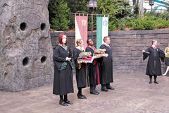 Harry Potter in the universal studios Stock Images