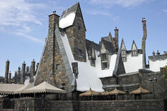 Harry Potter in the universal studios Stock Image