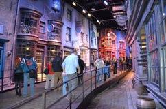 Harry Potter utställning, Warner Bros studio arkivfoton