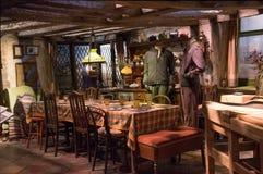 Harry Potter Weasleys-huiskeuken Stock Fotografie