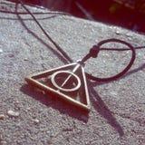 Harry Potter y el mortal santifica foto de archivo libre de regalías