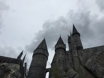 Harry Potters Castle Fotografia Stock