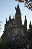 Harry- Potterschloß in Universalorlando stockbilder