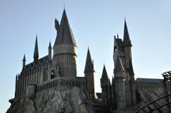Harry- Potterschloß in Universalorlando lizenzfreie stockfotografie