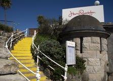 Harry Ramsden`s Restaurant. Harry Ramsden`s Bournemouth Seafront Dorset Stock Photos