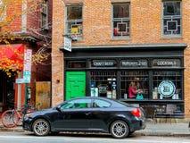 Harry's Burger Bar, Providence, RI. Royalty Free Stock Photography