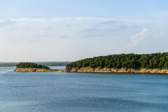Harry S Truman Lake Peninsula Royalty Free Stock Photo