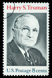 Harry S. Truman Postage Stamp Royalty Free Stock Photography