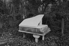 Harry Thornton Piano Grave Highgate Imagen de archivo libre de regalías