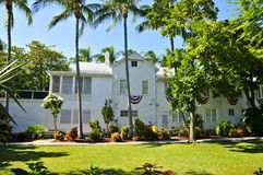 Harry Truman det lilla Vita Huset, Key West Royaltyfria Foton