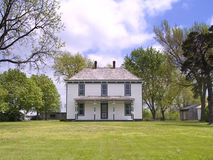 Harry Truman farm house. Harry S. Truman farm house in Grandview, Missouri Stock Photo